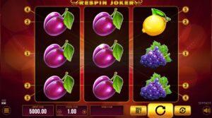 Respin Joker v DOXXbet kasíne